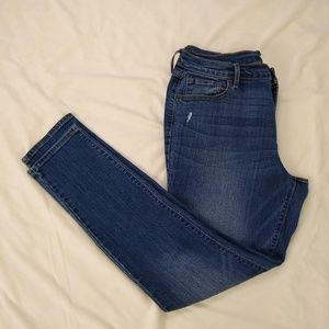 Old Navy | Curvy Skinny Long Blue Jeans